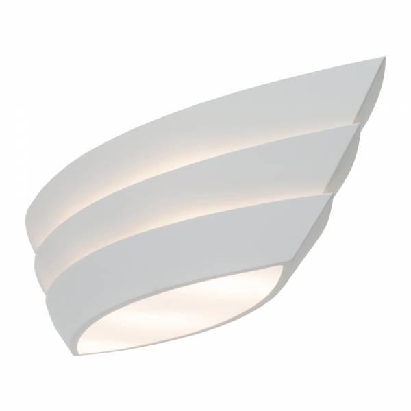 hochwertige deckenleuchte deckenlampe im modernen design metall wei matt ebay. Black Bedroom Furniture Sets. Home Design Ideas