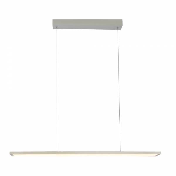 LED Panel 30W Pendelleuchte inkl. Fernbedienung, dimmbar, 90 x 15 cm eckig, 2100 Lumen, 2700-6500K, Metall / Kunststoff, weiß