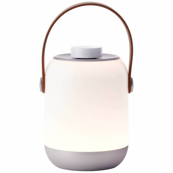 LED Außentischleuchte, 1x 1.58W LED integriert, 1x 120 Lumen, 3000K, , Kunststoff, weiß