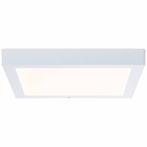 Smarte LED Aufbauleuchte per App steuerbar, 1x 24W LED integriert, 1x 1850 Lumen, 2700-6500K, Metall / Kunststoff, weiß