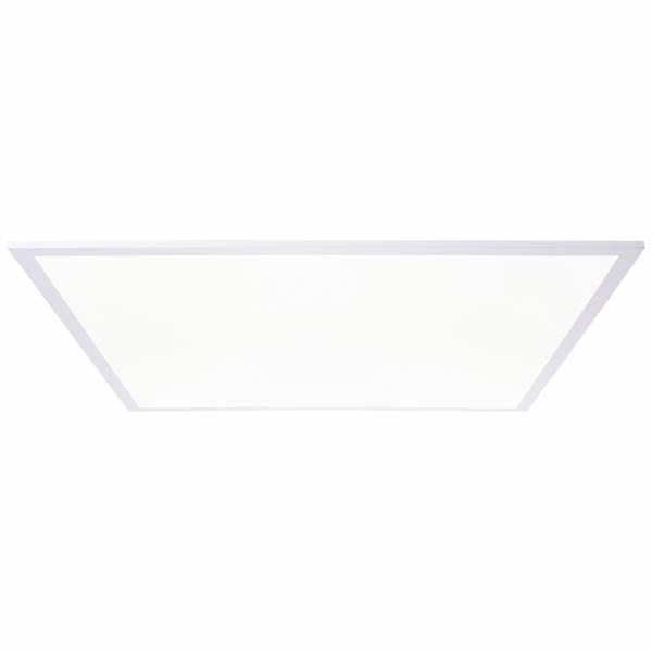 LED Panel Deckenleuchte, 75x75cm, 45 Watt, 5850 Lumen, 4000 Kelvin aus Metall / Kunststoff in weiß