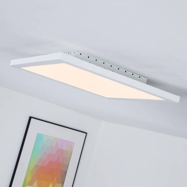 led panel 32w f r deckenaufbau inkl fernbedienung dimmbar 40 x 40 cm 2500 lumen 2700 6500k. Black Bedroom Furniture Sets. Home Design Ideas