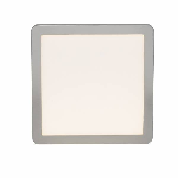 LED Deckenaufbau-Panel, 1x 15W LED integriert, 1x 950 Lumen, 3000K, , Aluminium / Kunststoff, eisen / weiß