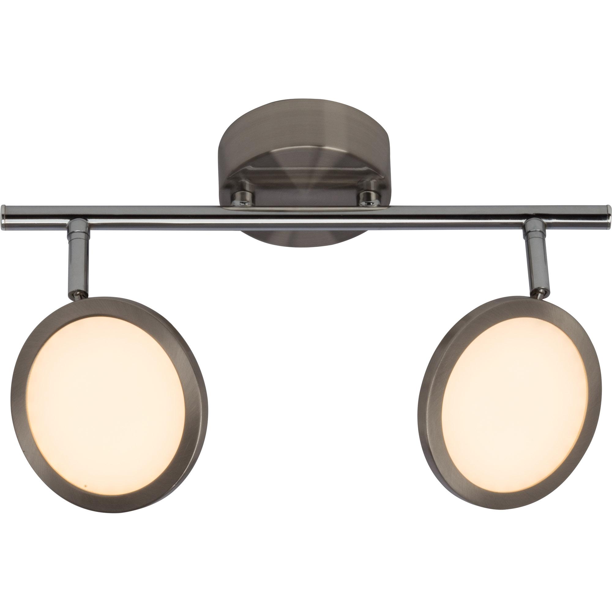 modernesled spotrohr deckenleuchte dimmbar 2x 5w led integriert 2x 500 lumen 3000k. Black Bedroom Furniture Sets. Home Design Ideas