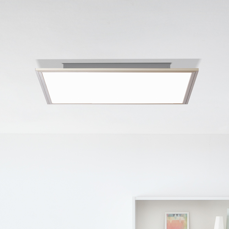 Brilliant DEL plafond construction Panel 40x40cm blanc 24 W Commutateur CCT blanc chaud-kaltweiß
