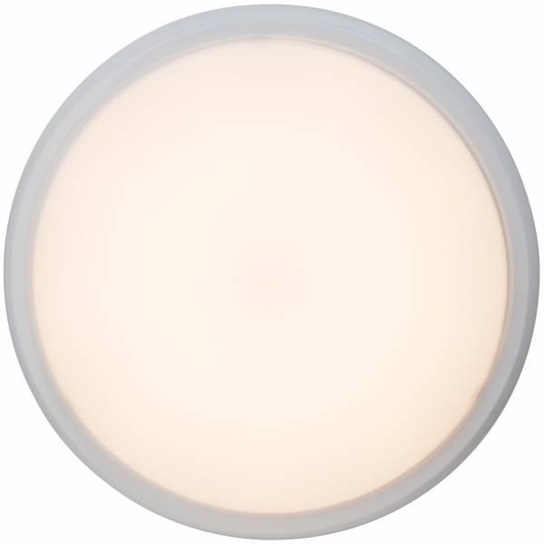 LED Wand- und Deckenleuchte, 1x 20W LED integriert, 1x 1200 Lumen, 2800K, , Metall / Kunststoff, weiß