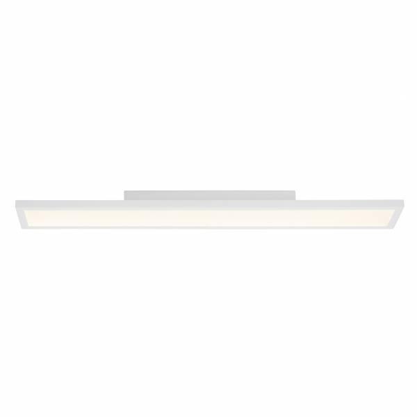 LED Panel 30W für Deckenaufbau inkl. Fernbedienung, dimmbar, 90 x 15 cm, 2100 Lumen, 2700-6500K, Metall / Kunststoff, weiß