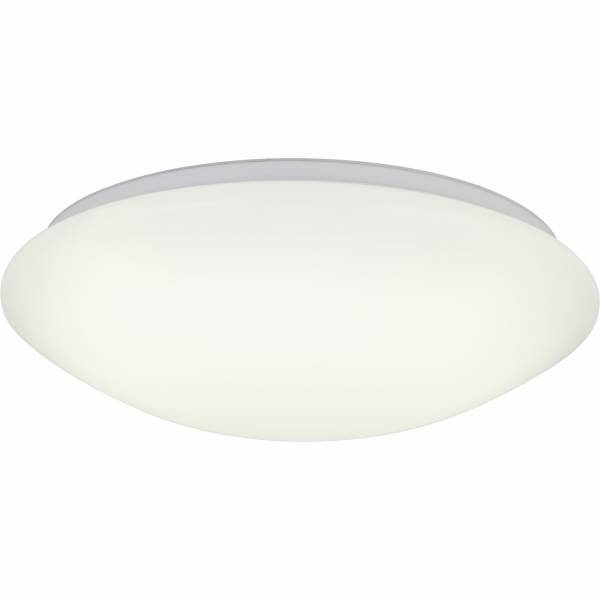 LED Wand- und Deckenleuchte, 1x 24W LED integriert, 1x 1760 Lumen, 3000-6000K, , Metall / Kunststoff, weiß
