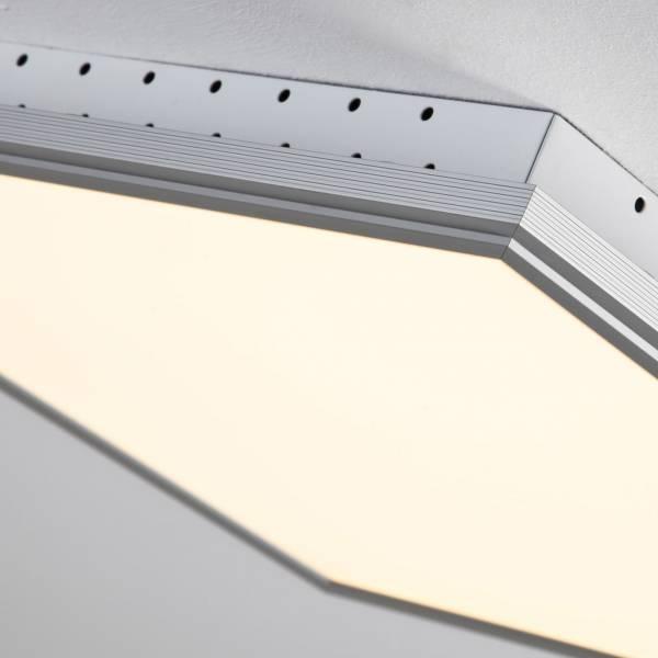 led panel 32w deckenleuchte 42cm x 42cm eckig inkl fernbedienung dimmbar ebay. Black Bedroom Furniture Sets. Home Design Ideas