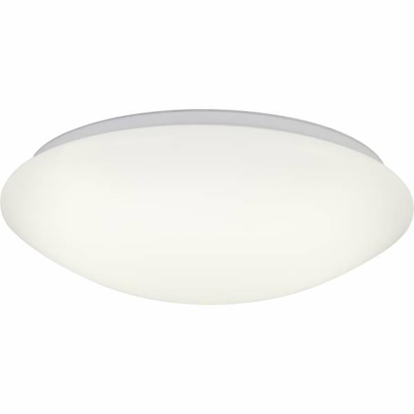LED Wand- und Deckenleuchte, 1x 24W LED integriert, 1x 1600 Lumen, 3000-6000K, Metall / Kunststoff, weiß