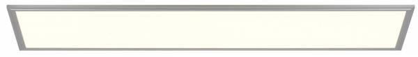 LED Deckenaufbau-Panel, 1x 92W LED integriert, 1x 4650 Lumen, 3000K, , Aluminium / Kunststoff, alu / weiß