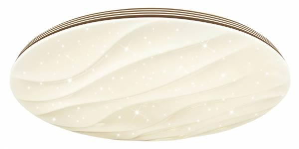 LED Wand- und Deckenleuchte 78cm XXL, 1x 80W LED integriert, 1x 6500 Lumen, 3000-6000K, , Metall / Kunststoff, weiß