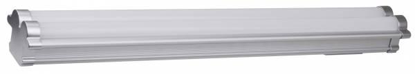 Universal 22W LED Langfeldleuchte, 1500 Lumen, 4000K, Breite 61,5 cm, Metall / Kunststoff, weiß