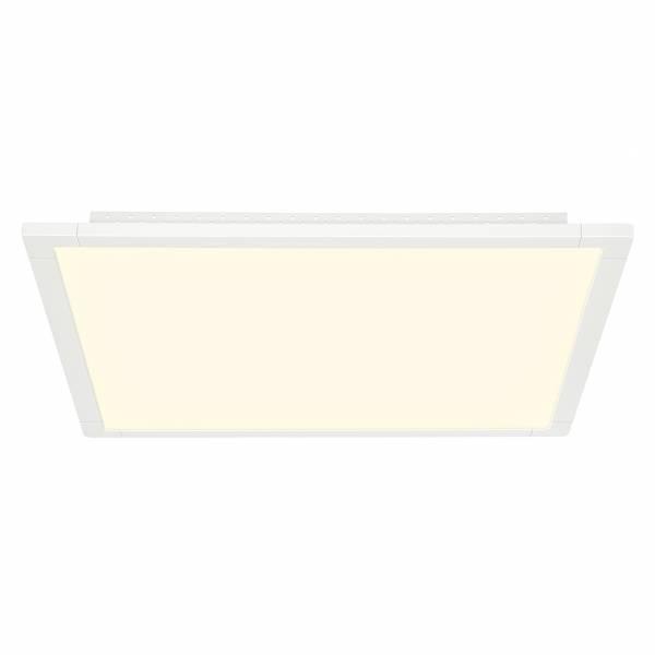 LED Panel 42W Deckenleuchte, 60 x 60 cm eckig, dimmbar, inkl. Fernbedienung, 1x 42W LED integriert, 3600 Lumen, 2700-6500K