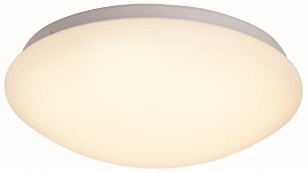 LED Wand- und Deckenleuchte, 1x 12W LED integriert, 1x 820 Lumen, 3000K, , Metall / Kunststoff, weiß