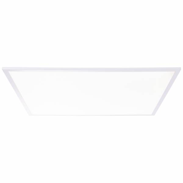 LED Deckenpanel, 60x60cm, 40 Watt, 5200 Lumen, 4000 Kelvin aus Metall / Kunststoff in weiß