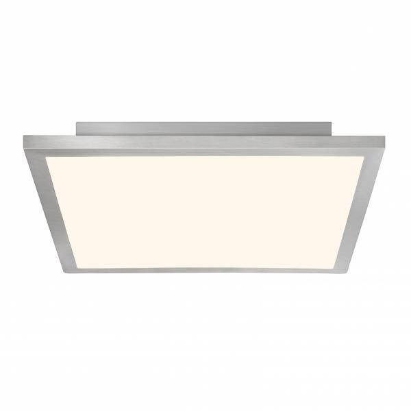LED Panel 42W Deckenleuchte, 50 x 50 cm eckig, inkl. Fernbedienung, dimmbar, 3100 Lumen, 2700-6500K, Metall / Kunststoff, eisen