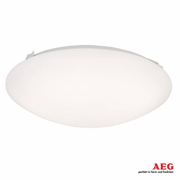 LED Wand- und Deckenleuchte rund Ø 30 cm, 1.000 Lumen, kaltweiß 4.000K, 14W, Metall / Kunststoff, weiß
