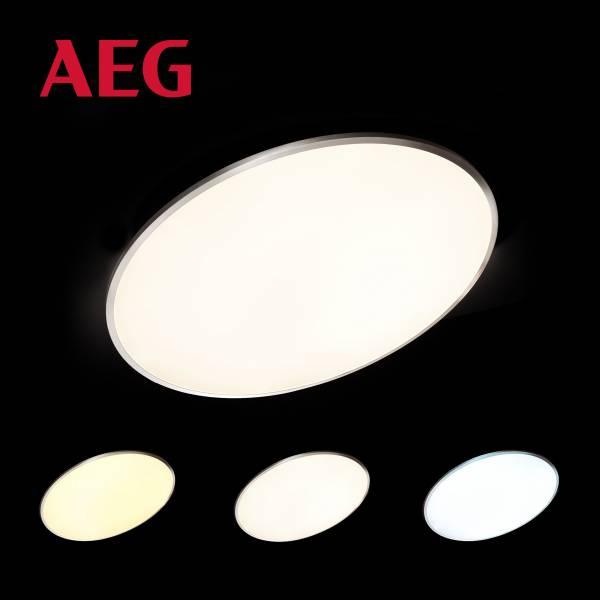 Almeda LED Deckenaufbau-Paneel 75cm eisenMetall / Kunststoff, eisen