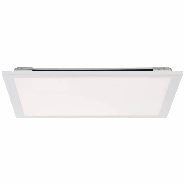 LED Deckenaufbau-Paneel 40x40cm, 1x 24W LED integriert, 1x 2000 Lumen, 2700-6500K, , Metall / Kunststoff, weiß
