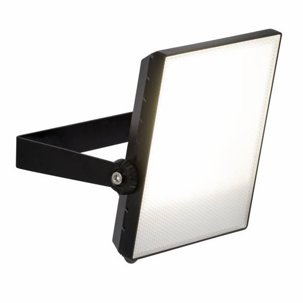 LED Außenwandstrahler 22cm, 1x 30W LED integriert, 1x 2400 Lumen, 4000K, Metall / Kunststoff, schwarz