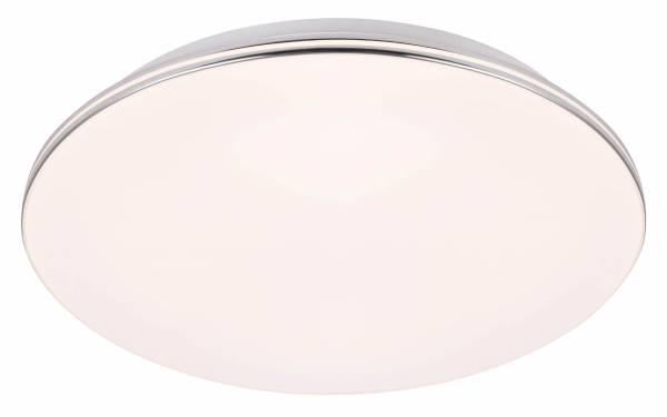 LED Wand- und Deckenleuchte 98cm XXL, 1x 80W LED integriert, 1x 6500 Lumen, 3000-6000K, , Metall / Kunststoff, weiß